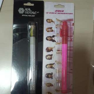 [WTS] EXO FROM EXOPLANET #1 LIGHTSTICK AND 2013 SNSD LIGHTSTICK