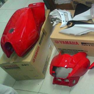 Rxz Volume Red Coverset(HLY)