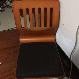 和室椅 木頭 可旋轉(一張350,兩張500)出清價