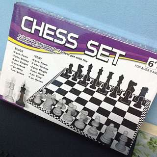 Chess Set Board Game!