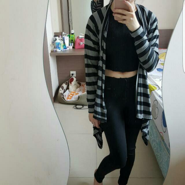 2tone cardigan