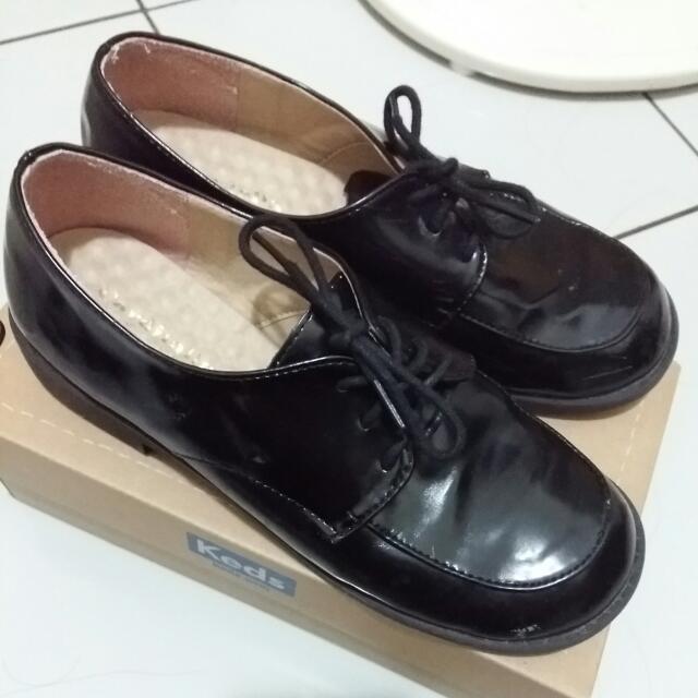 綁帶皮鞋 工作鞋