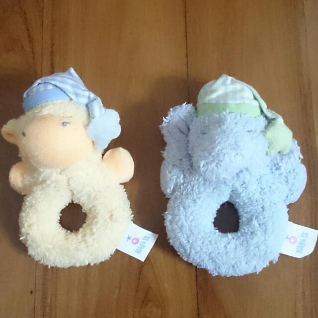 嬰兒手搖鈴玩偶