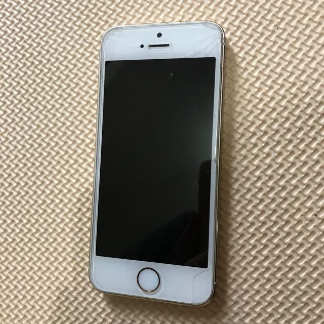 自售 蘋果 Apple  5s 金 16g 女用機 便宜 出清