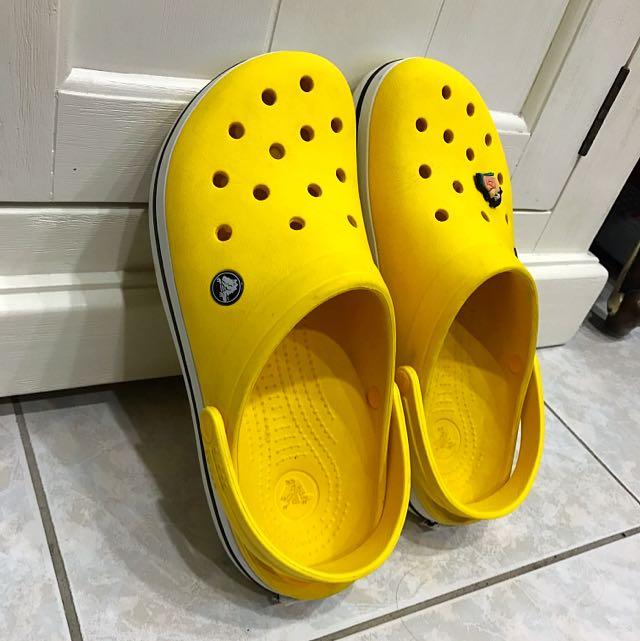 正版 Crocs 布希鞋 男生