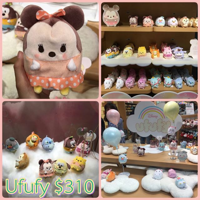 【預購】迪士尼 Ufufy 超可愛娃娃