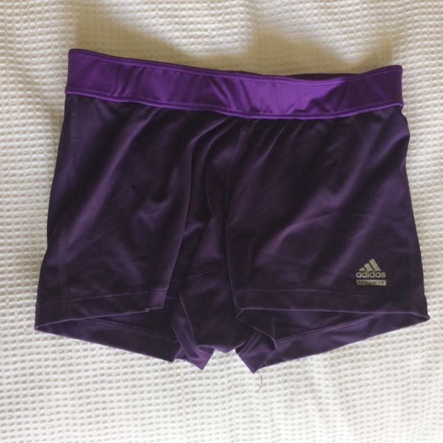 Addidas Purple Bike Shorts