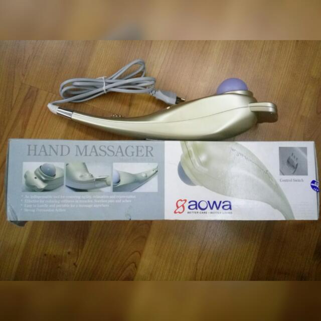 Alat Pijat Elektrik AOWA Hand Massager
