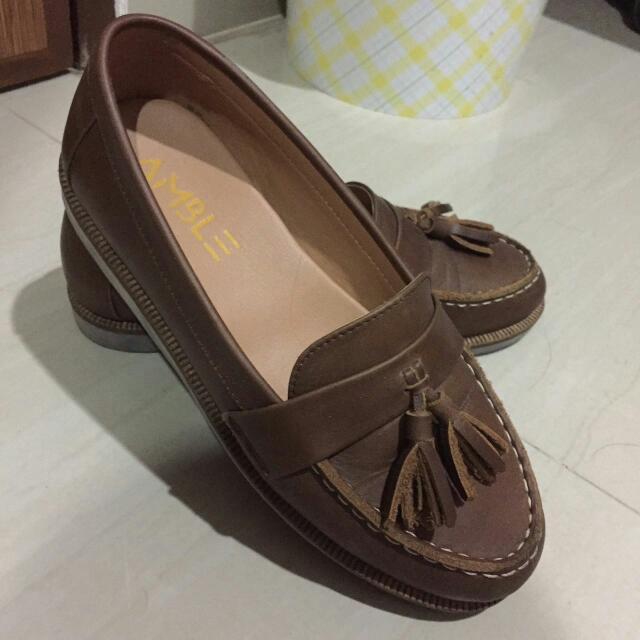 Amble Original Leather Shoes