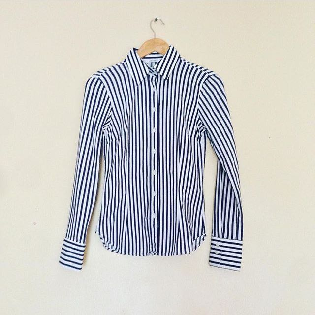 Authentic Zara Striped Black & White