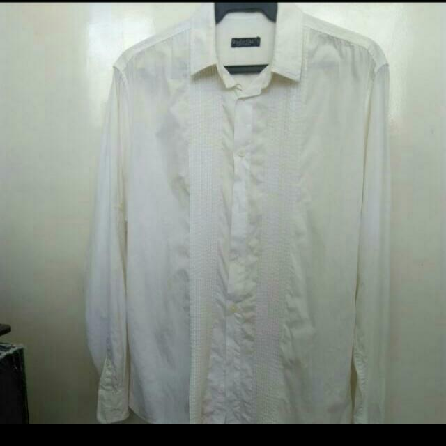 bench long sleeves white for men