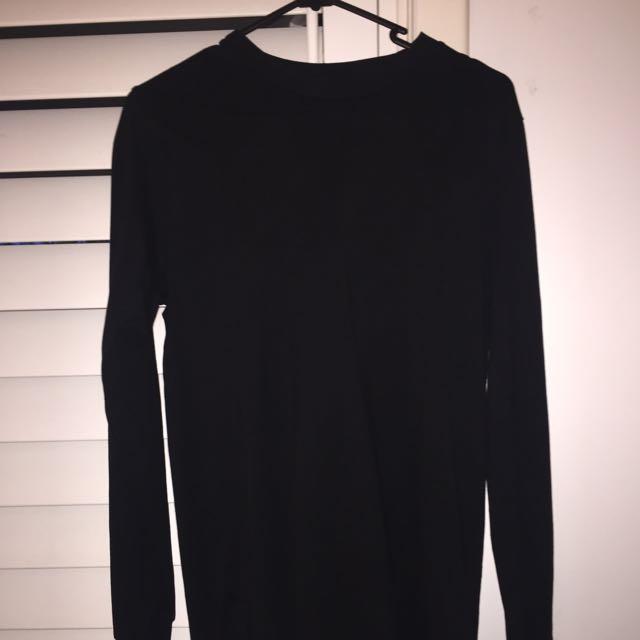 Black AS colour Shirt Long Sleeve