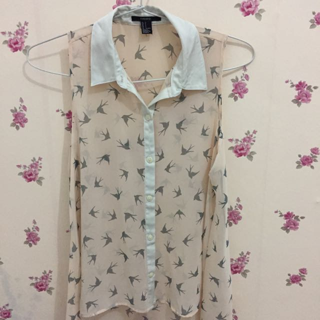 Blouse Forever21 Swallow