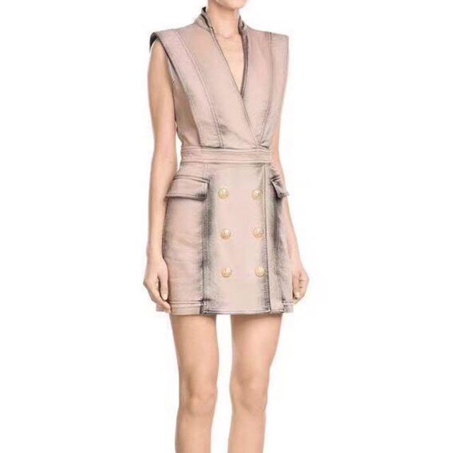 BN V Helter Skelter Jumper Dress