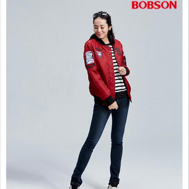 當季Bobson 女款飛行外套