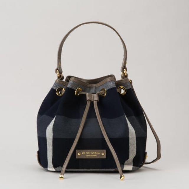 d156ae6f41fd Burberry Blue Label Crestbridge Check Bucket Bag