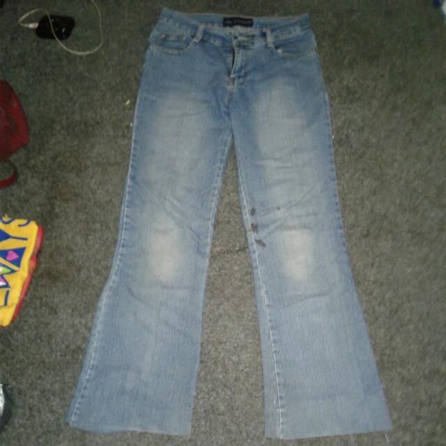 celana jeans cutbray merk banluo