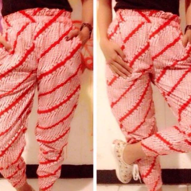 Celana Jogger Batik