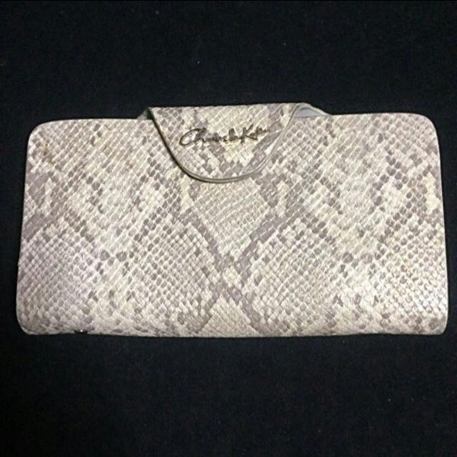 Charles And Keith Snake Skin Wallet