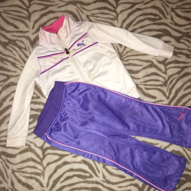 Children's Puma Tracksuit