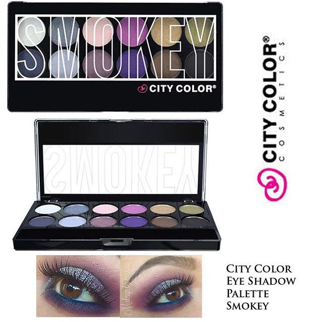 City Color Smokey Eyeshadow Pallete