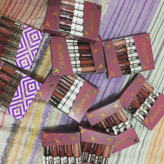 Colourpop Liquid Matte And Satin Lipsticks