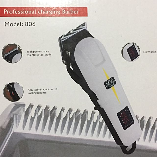 Cordless Rechargeable HairClipper