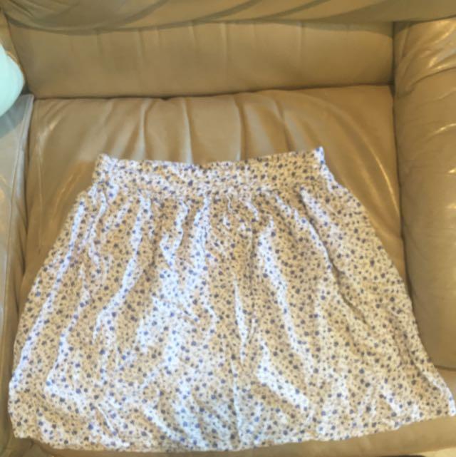 Cute Foral Skirt