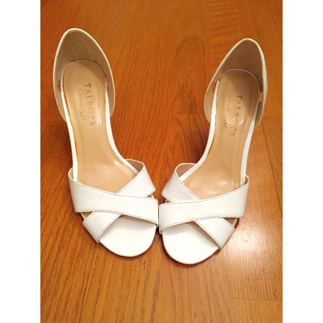 Cute Talbots Summer Wedges (WHITE, SIZE 5)