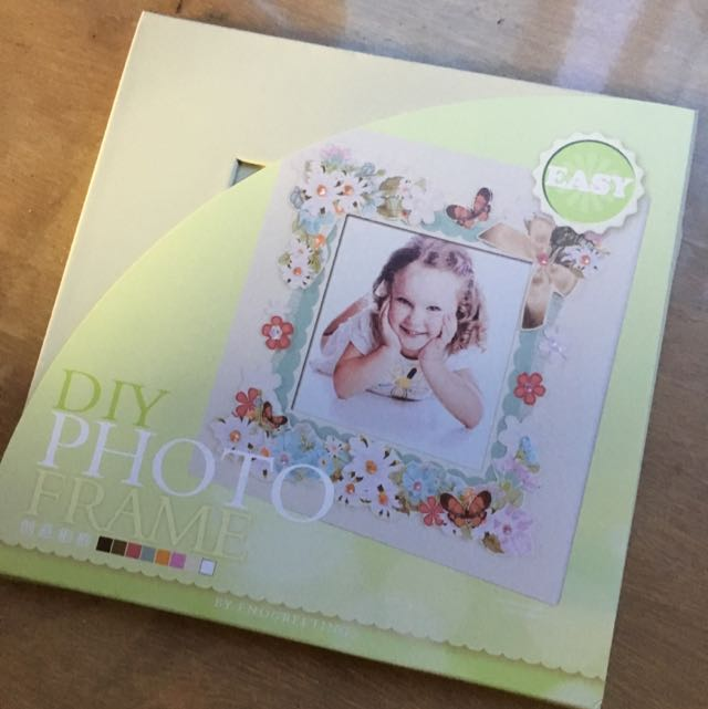 Diy Photo Frame Design Craft Craft Supplies Tools On Carousell