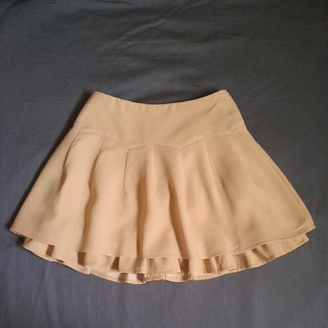 Double Layer Miniskirt