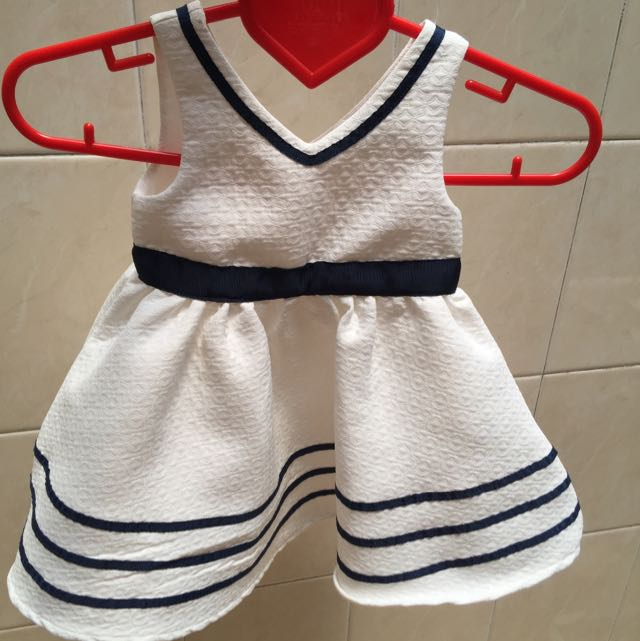 Dress White (mothercare)
