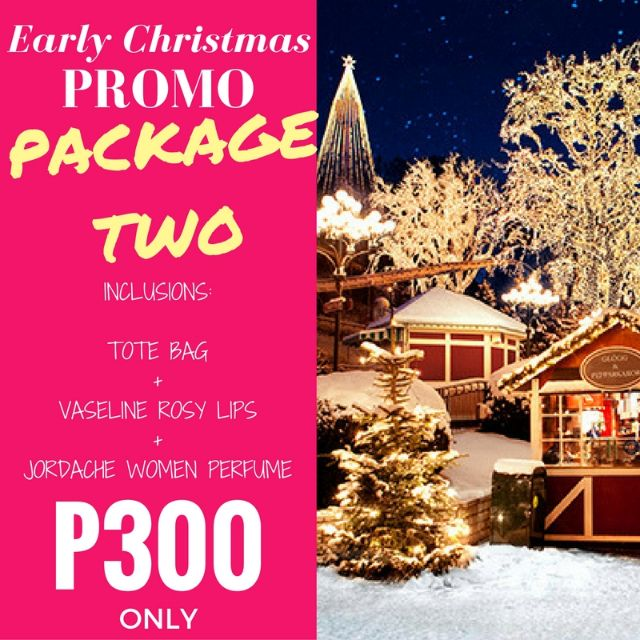 Early Christmas Promo - Package Two