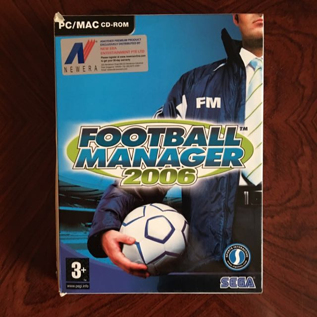 Football Manager 2006 PC/MAC