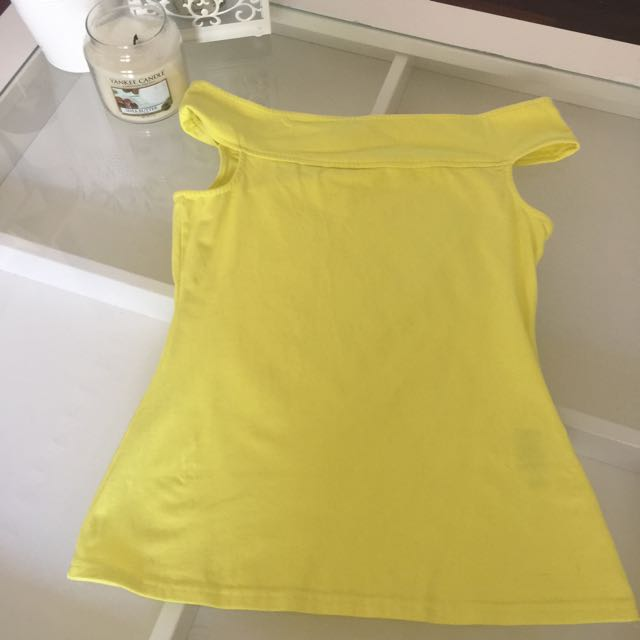 Forever New Yellow Top