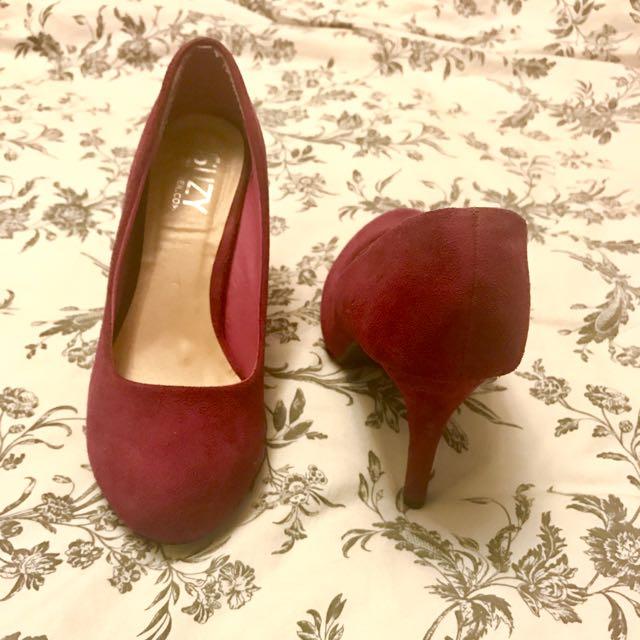 Fuchsia High Heels - Suzy Shier