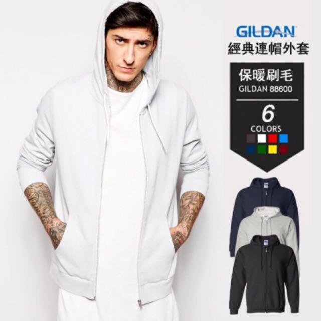 GILDAN黑色連帽外套