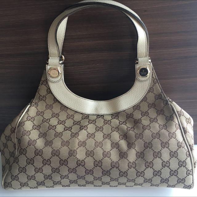 Gucci Preloved Tote Bag