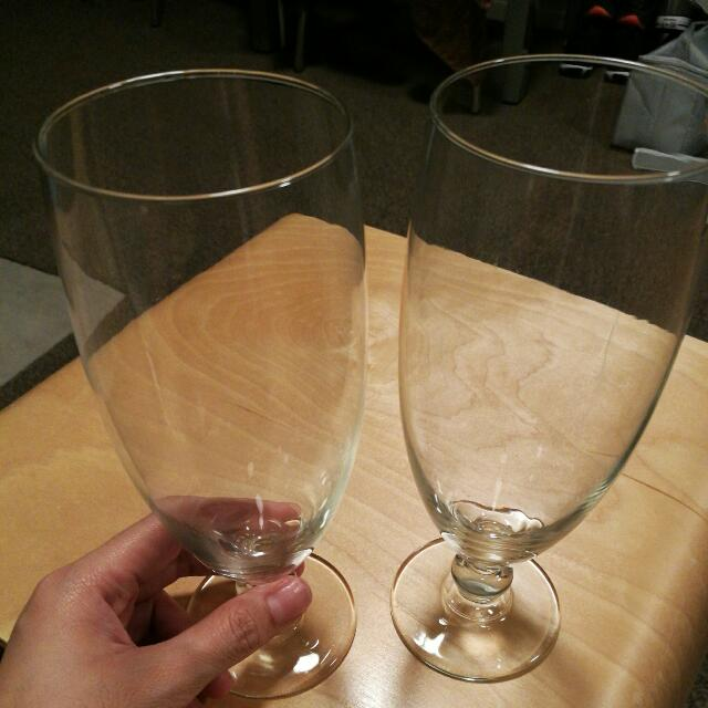 High Wine Glass