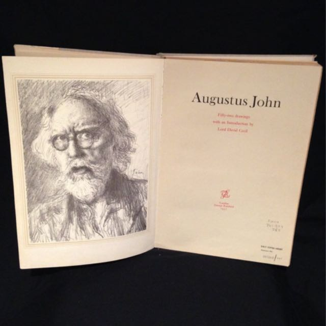 Fifty-Two Drawings By Augustus John Highly Collectible