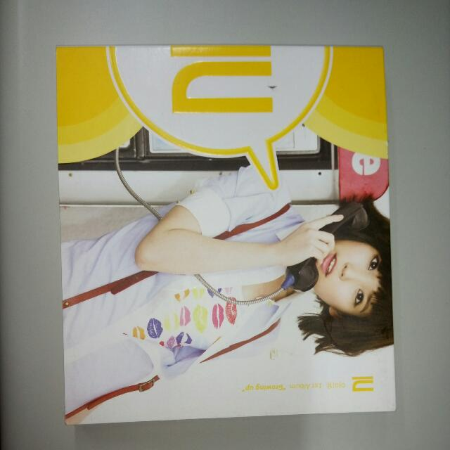 IU 首張CD Growing Up 韓國進口版