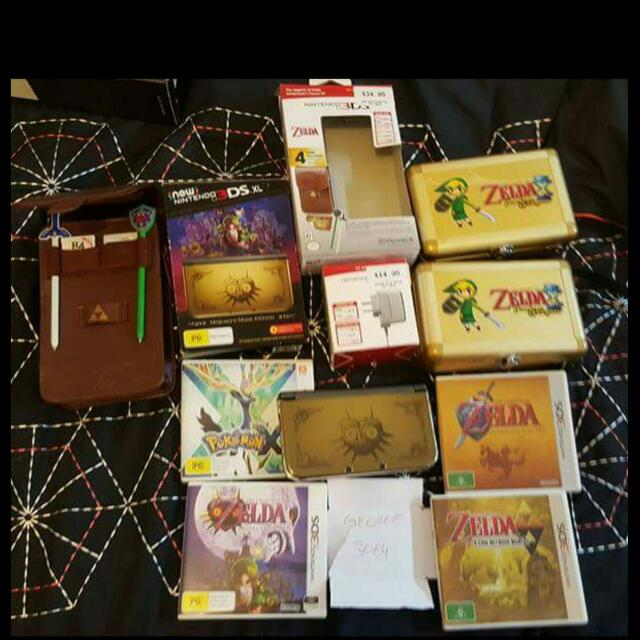 Limited Edition Zelda New 3ds Xl Plus More