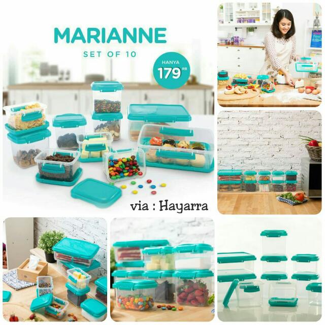 marianne set of 10