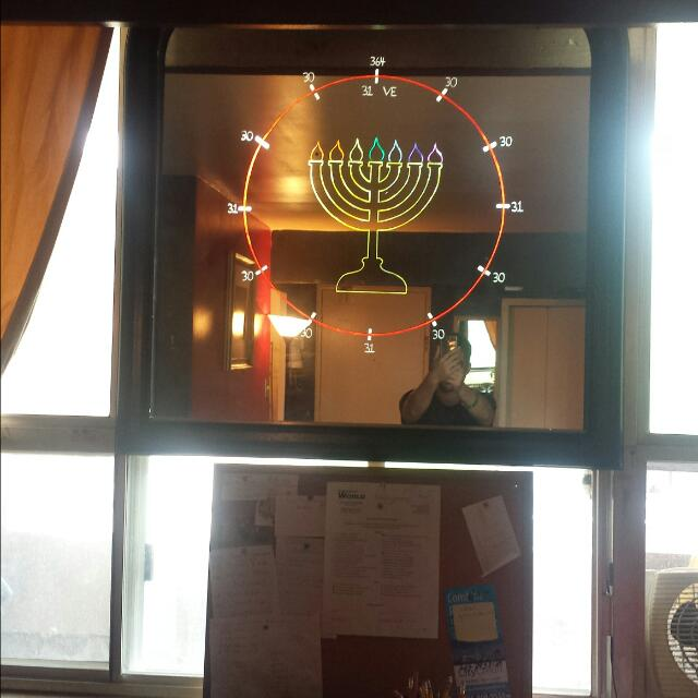 Menorah With Calendar Cycle Based On 364 Days Finishing At The Vernal Equinox