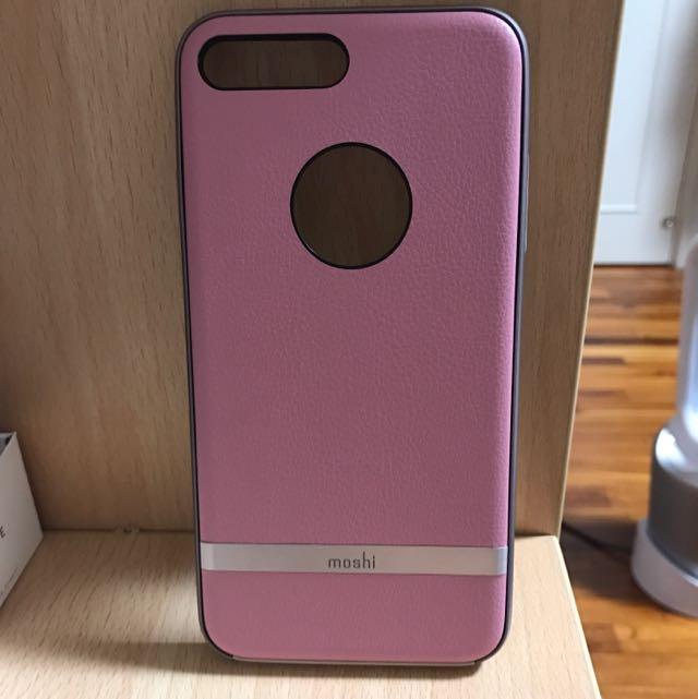 moshi iPhone 7plus 手機殼(粉)