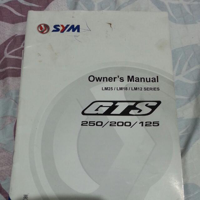 Motorbike Owner Manual