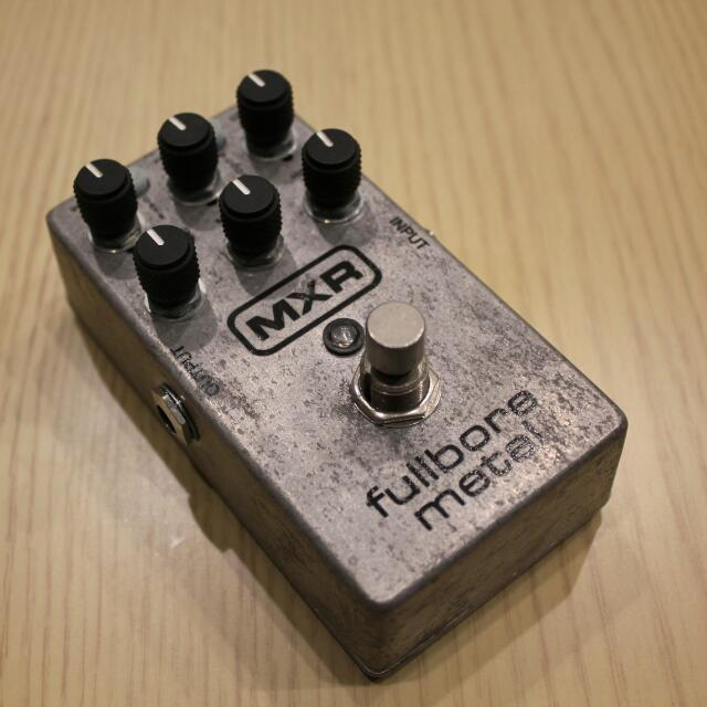 MXR Fullbore metal 電吉他效果器
