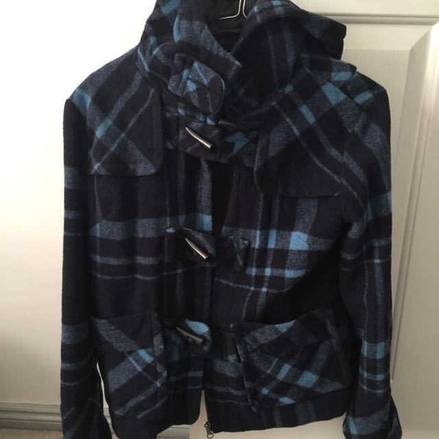 Myer Navy Blue Jacket Winter AU8