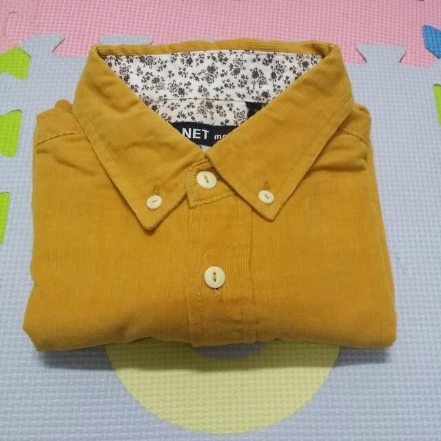Net 法蘭絨 長袖襯衫(保留)