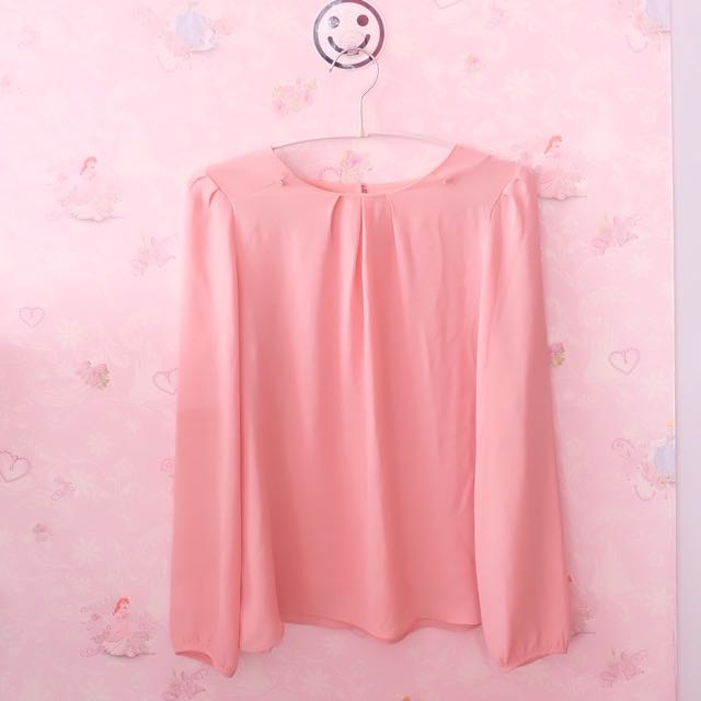 Neu Mor Pink Blouse